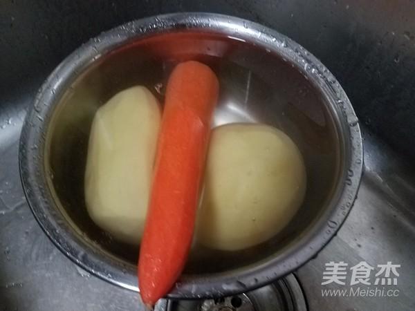 土 豆 丝 饼的做法大全