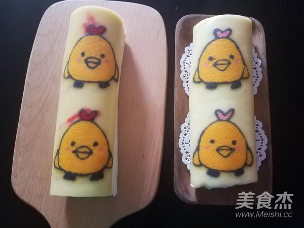 彩绘蛋糕卷(小鸡快跑)怎样炒