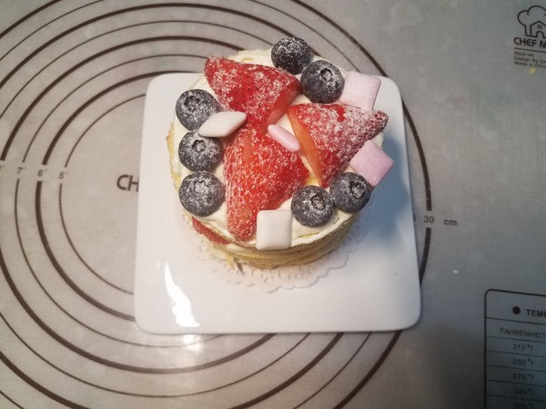 草莓裸蛋糕怎样炖