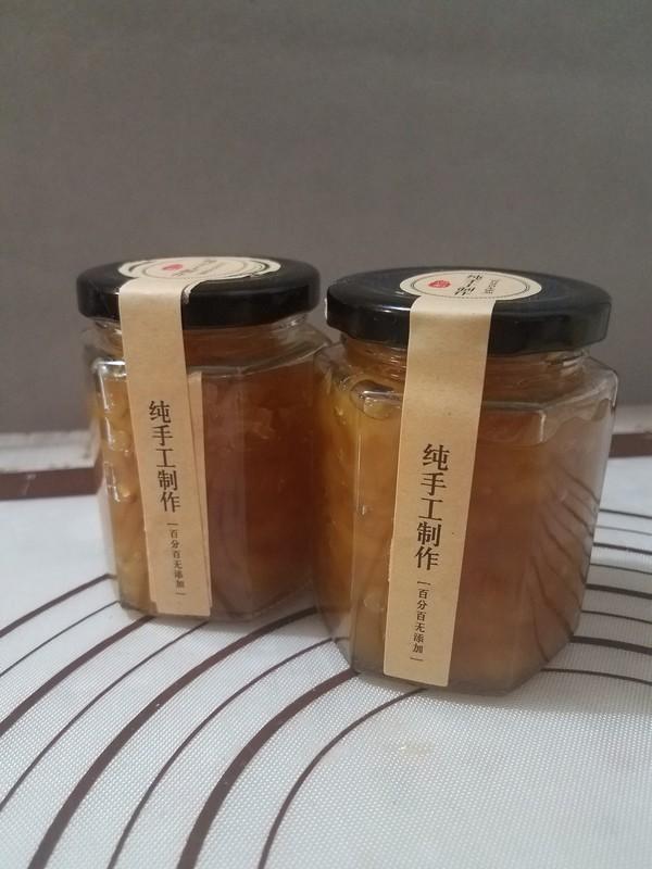 菠萝果酱的制作