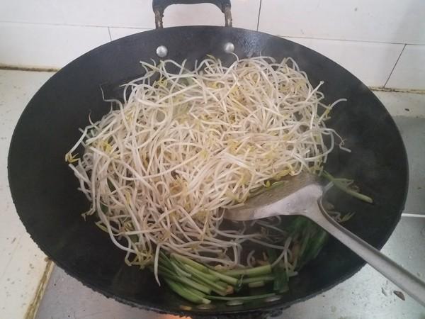 韭菜炒豆芽怎么煮