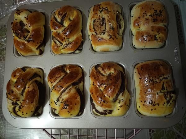豆沙小面包的制作