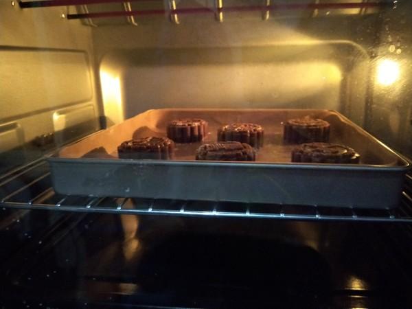 黑糖月饼的制作方法