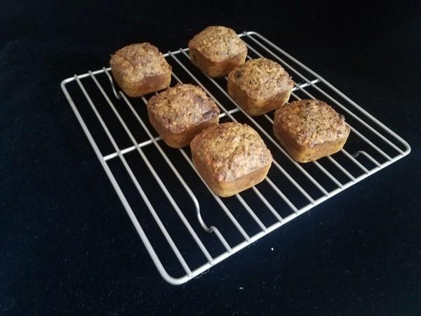 燕麦海苔肉松玛芬怎样做