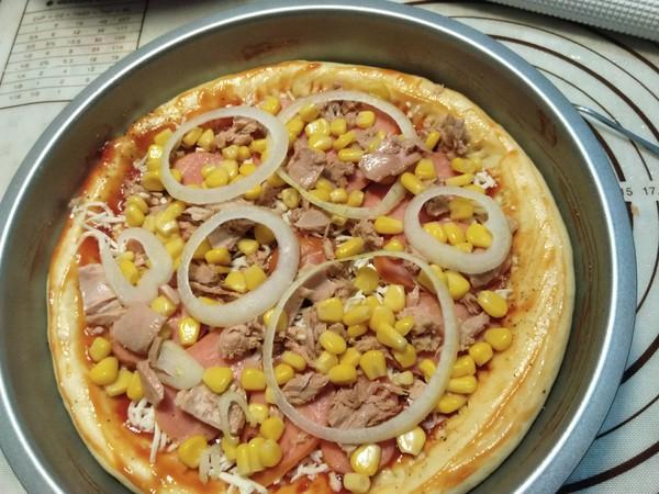 金枪鱼芝心披萨怎样炒