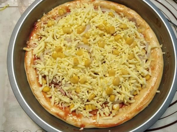 金枪鱼芝心披萨怎样煮