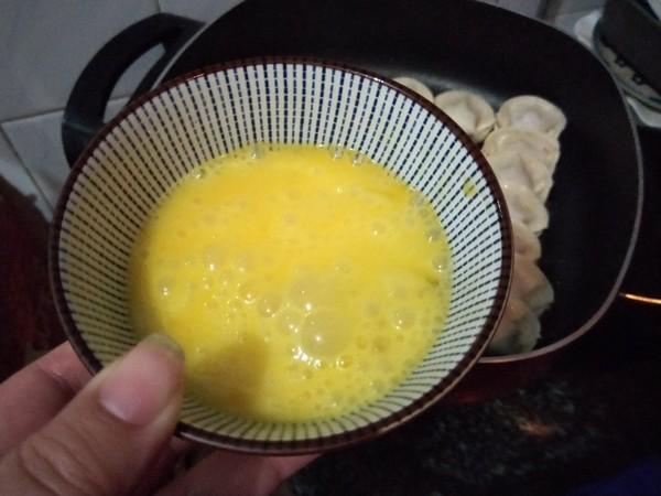 蛋包煎饺怎么吃
