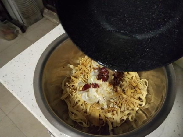 葱油豆腐皮怎么做