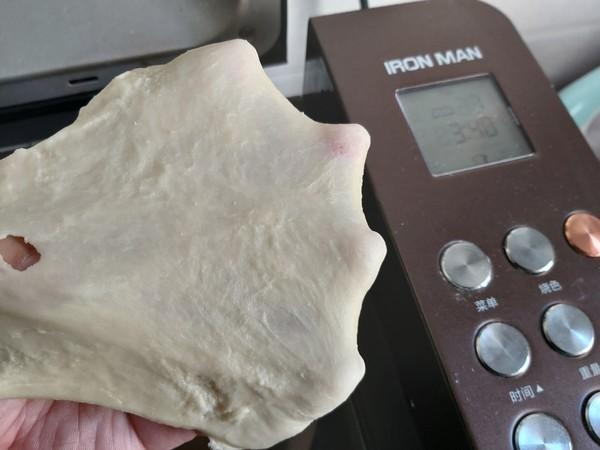 原味奶香吐司(面包机一键)怎么做