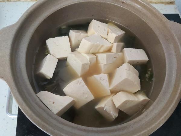 海带豆腐汤怎么炒