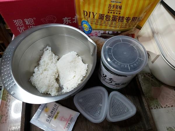 海苔肉松饭团的做法大全