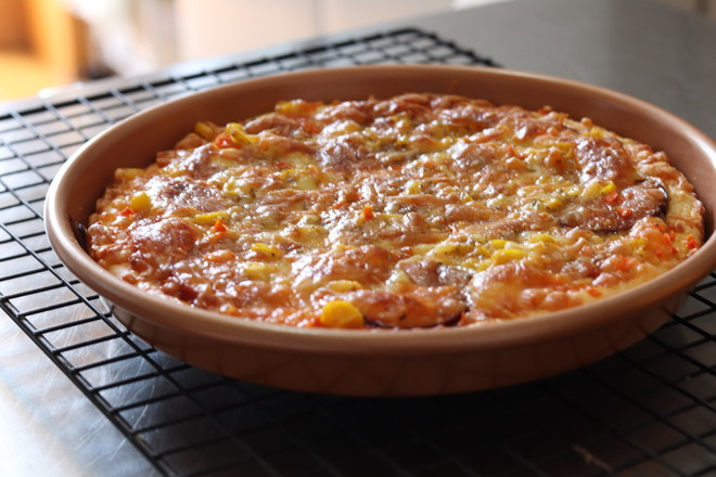 海鲜大虾披萨怎样做