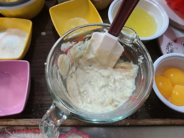 香蕉戚风蛋糕怎么吃