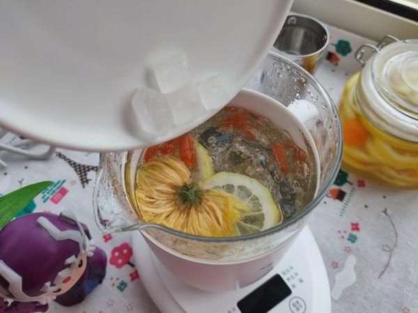 柠檬菊花茶怎么吃