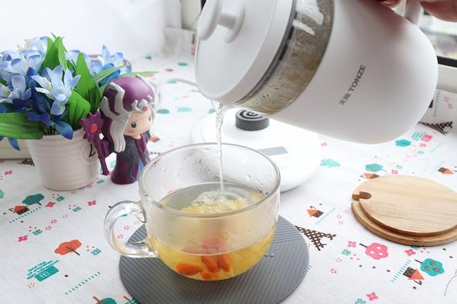 柠檬菊花茶怎么做