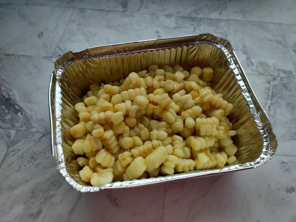 香辣孜然烤玉米粒的做法图解
