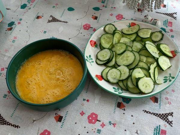 简单两步搞定的黄瓜炒鸡蛋,营养又美味的做法大全
