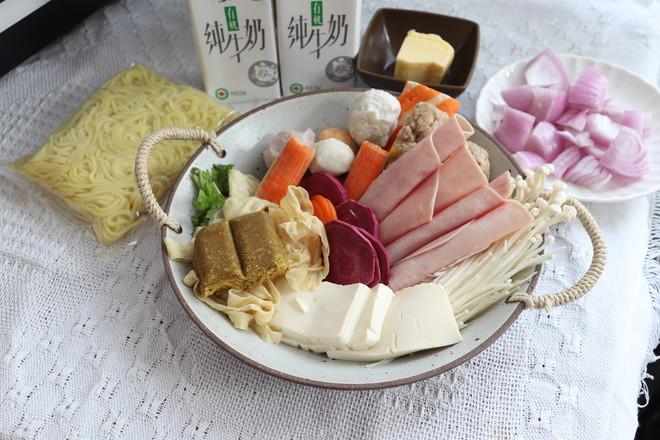 牛奶咖喱火锅的做法大全
