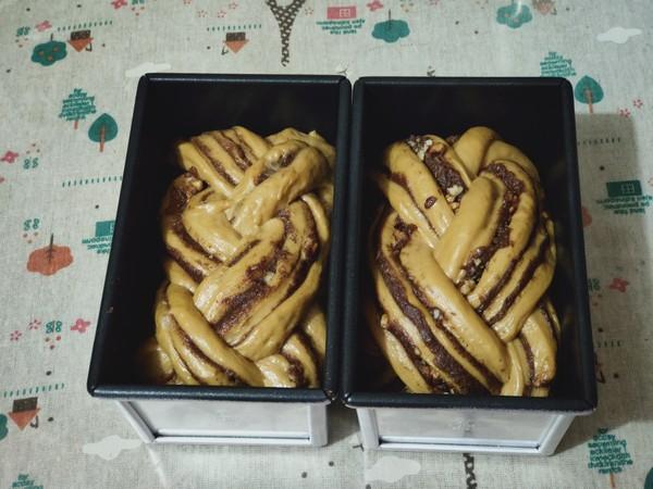 黑糖肉桂核桃吐司的制作