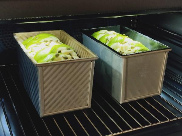 淡奶油斑斓吐司,好看又好吃,绝对让你爱上吐司怎样煮