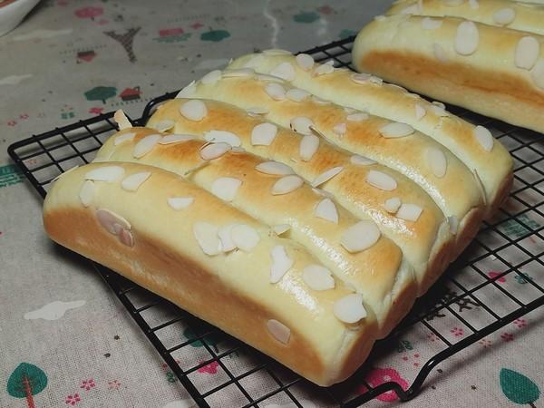 杏仁奶香排包,松软香甜超好吃!怎样炒