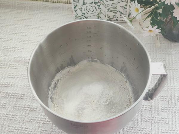 淡奶油豆沙排包的做法图解