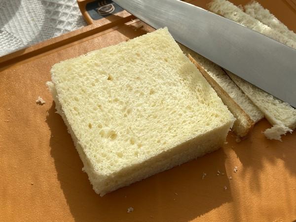 滑蛋芝士三明治,十分钟搞定的营养早餐的家常做法