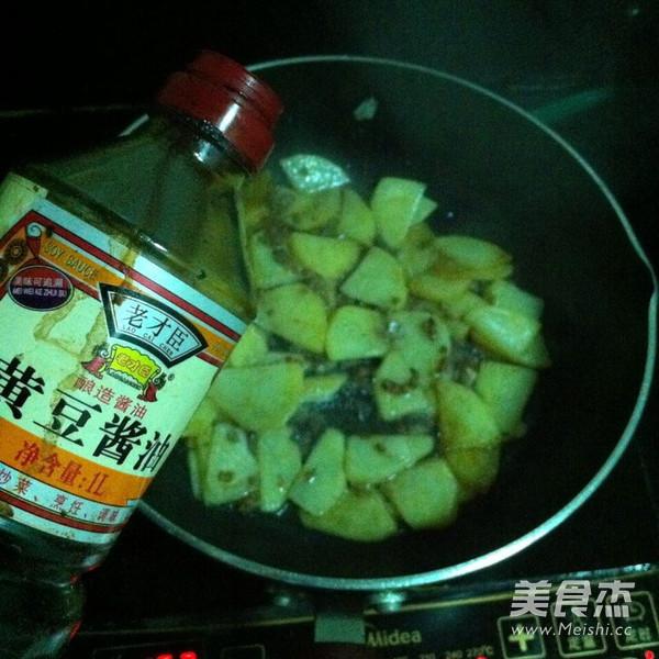 土豆片炒青椒的简单做法
