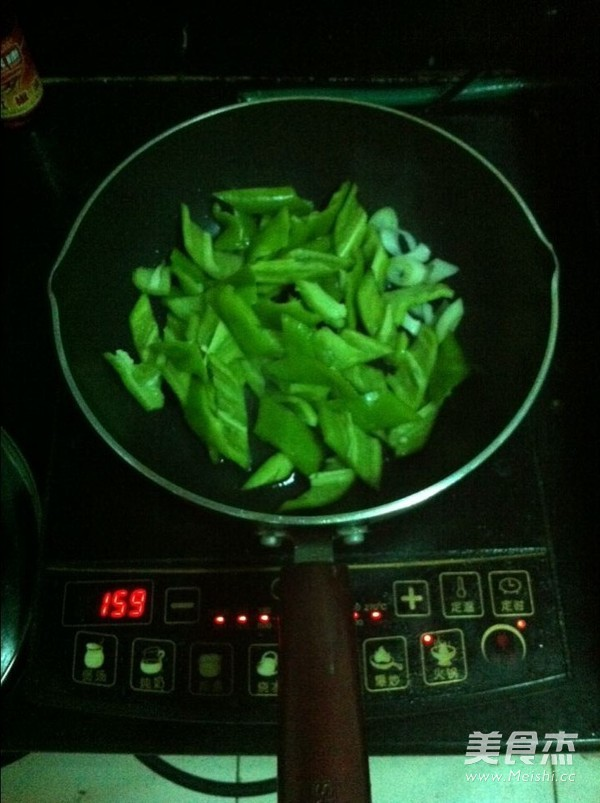 尖椒豆皮的做法图解