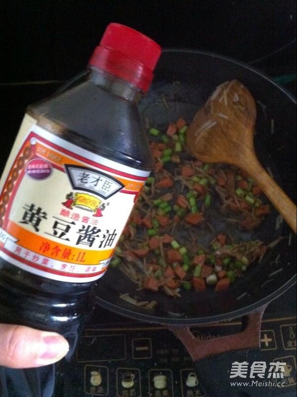 蔬菜炒方便面的简单做法