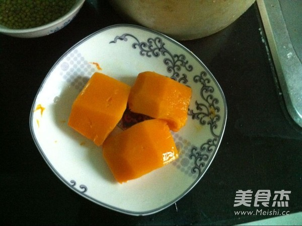 绿豆南瓜粥的做法图解