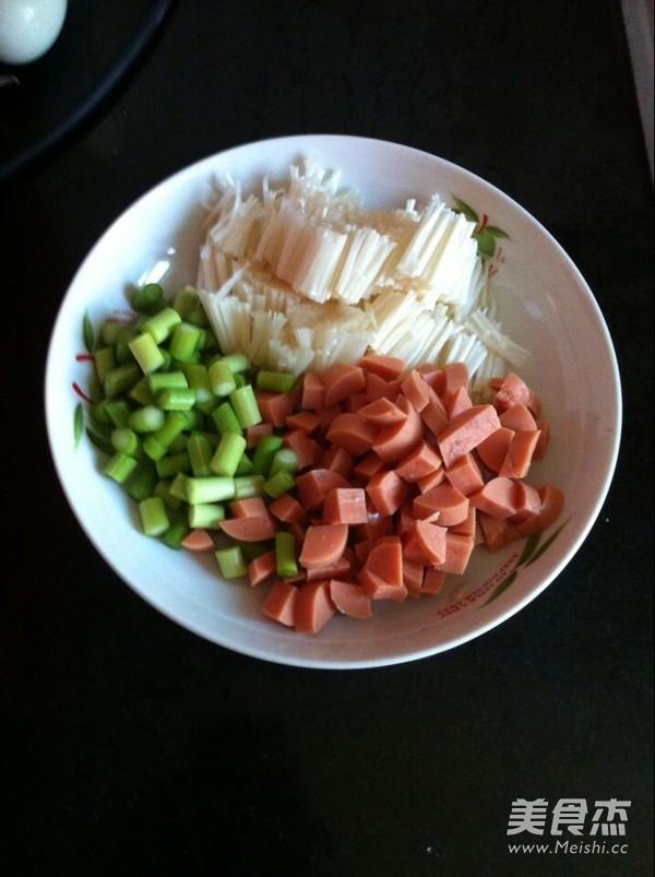 蔬菜炒方便面的做法大全