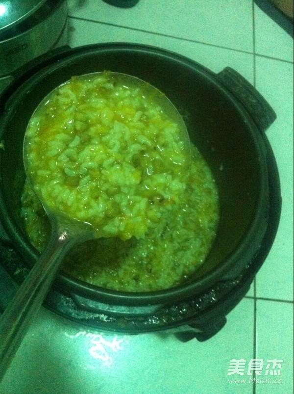 绿豆南瓜粥怎么吃