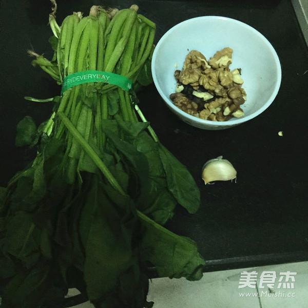 核桃仁拌菠菜的做法大全