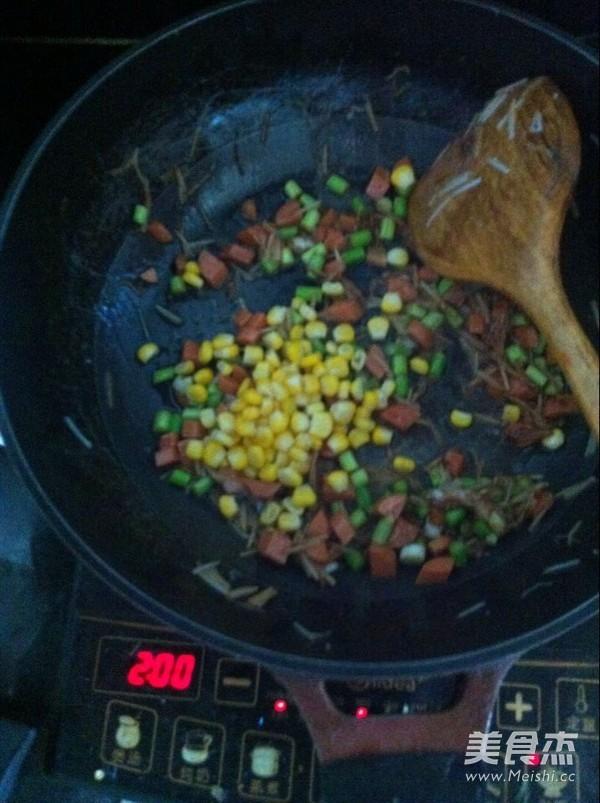 蔬菜炒方便面怎么吃