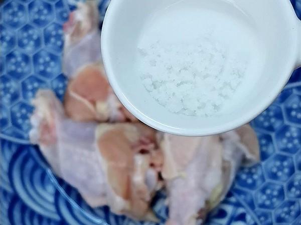 盐焗鸡腿的家常做法