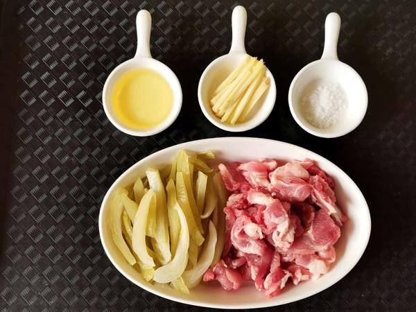 酸菜炒猪肉的做法大全