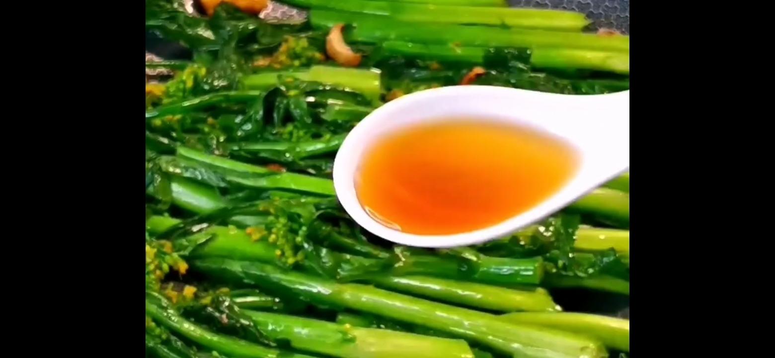 素炒油菜花怎么吃