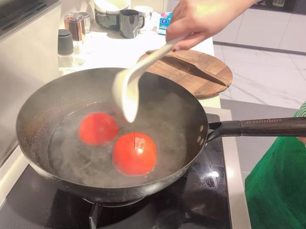 蒸箱版番茄土豆炖牛腩的做法图解