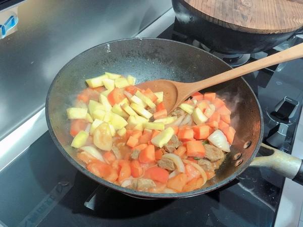 蒸箱版番茄土豆炖牛腩怎么炒