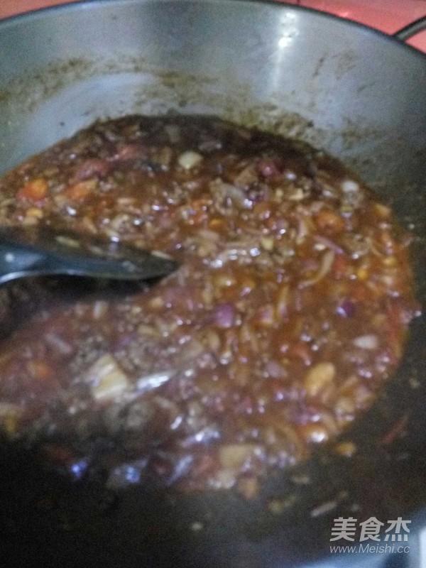 牛肉酱米线怎么吃