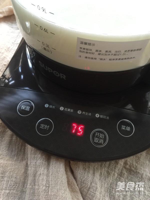 姜汁撞奶(养生壶版)的做法图解
