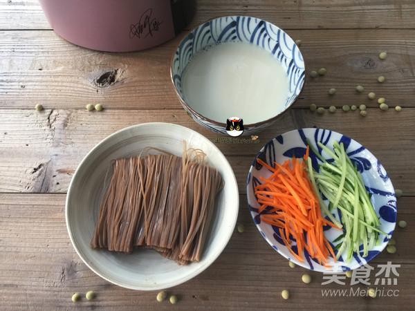豆浆冷面的做法图解