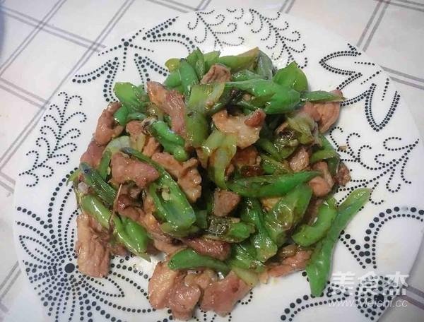 杭椒小炒肉成品图