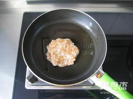 黑椒足球汉堡怎么煮