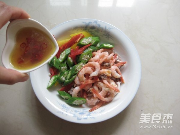 柠香酸辣北极虾怎么煮