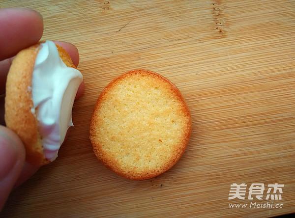 戚风奶油西饼的制作方法