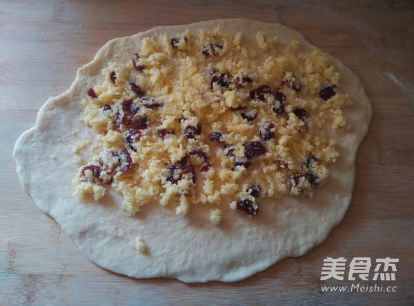 椰蓉蔓越莓花环面包怎样炒