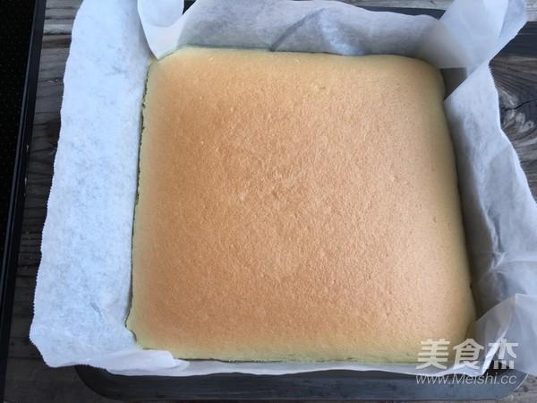 日式棉花蛋糕的制作