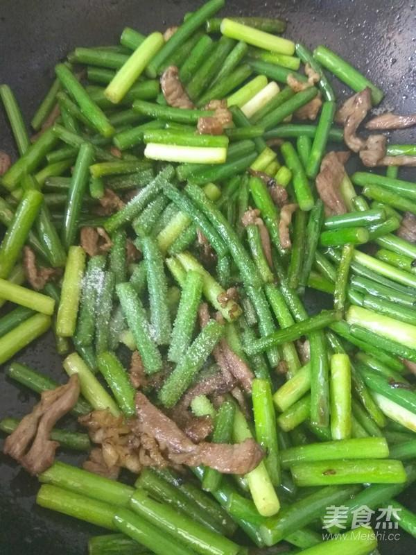 蒜苔炒肉怎么做